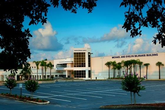Main building elevation