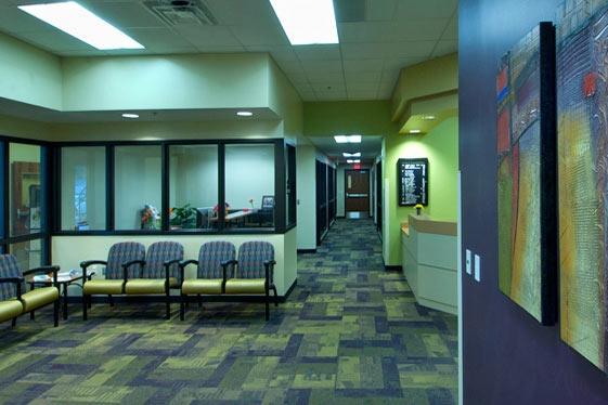 Main entrance reception/waiting area