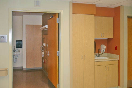 Isolation Room Entry