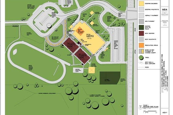 MASTER PLANNING - Evaluation and Feasibility Study for Schrader Elementary School, New Port Richey, Florida