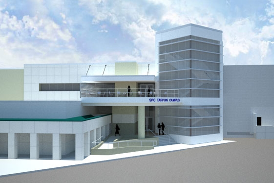 ST. PETERSBURG COLLEGE - Olympia Building, Tarpons Springs Campus, College of Education - Classroom & Lab Renovation, Palm Harbor, Florida • rendering