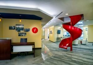 5th Floor Reception Slide