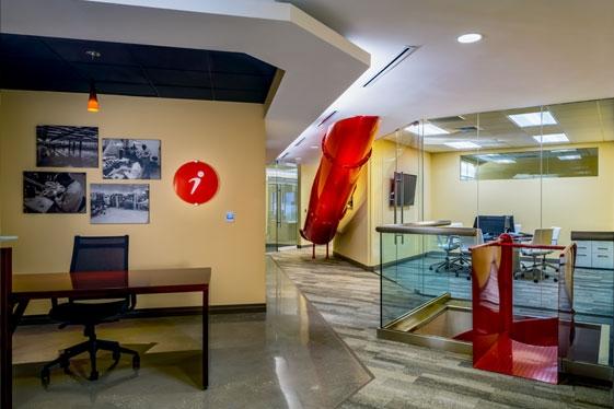 6th Floor Reception Slide