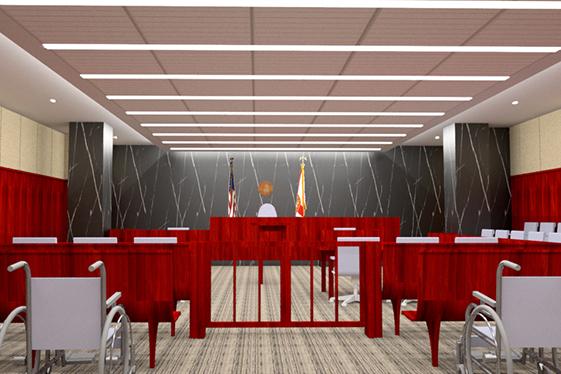 Court Room 313