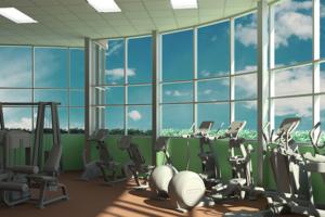Fitness Center workout Equipment