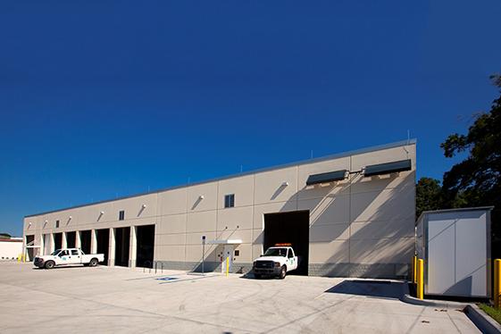 Public Works Operations Vehicle Storage Area